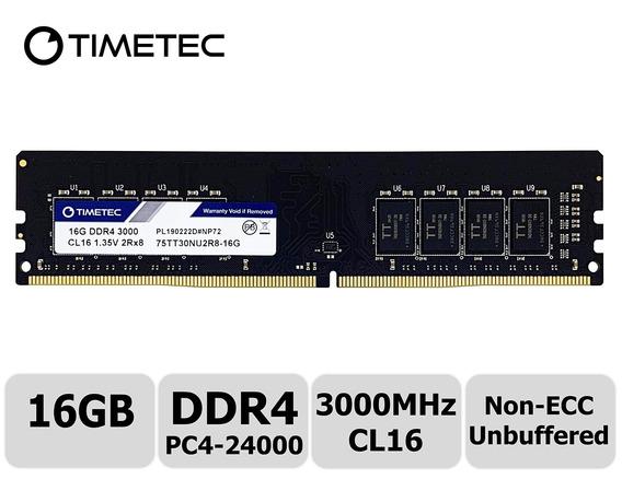 Memoria Ram 16gb Timetec Extreme Performance Hynix Ic Ddr4 3000mhz Pc4-24000 Cl16 1.35v Unbuffered Non-ecc Dual Rank Des