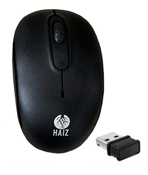 Mouse Óptico Sem Fio Haiz 2.4ghz Usb Note Pc Hz-4005