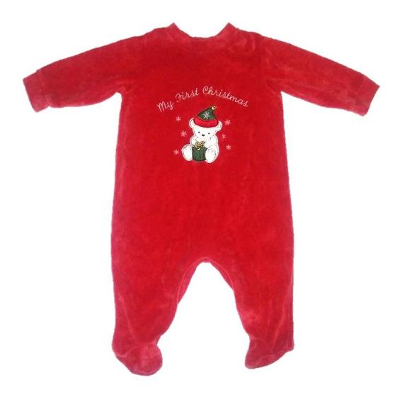 Mameluco Mi Primer Navidad, Santa Claus, Para Bebe Unisex