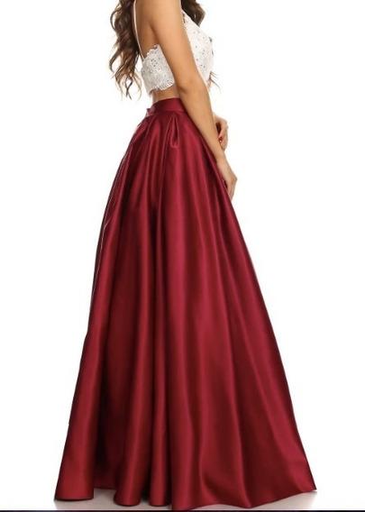 Falda Nueva Color Rosa