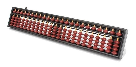 Soroban Ábaco Japonês Calculadora 23 Colunas Boa Qualidade