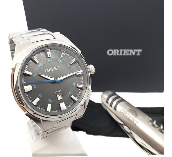 Relógio Masculino Social Orient Mbss1348 Original Nf-e Aço
