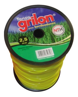 Tanza Grilon 2,5mm Redonda Desmalezadora Motoguadaña X 1kg