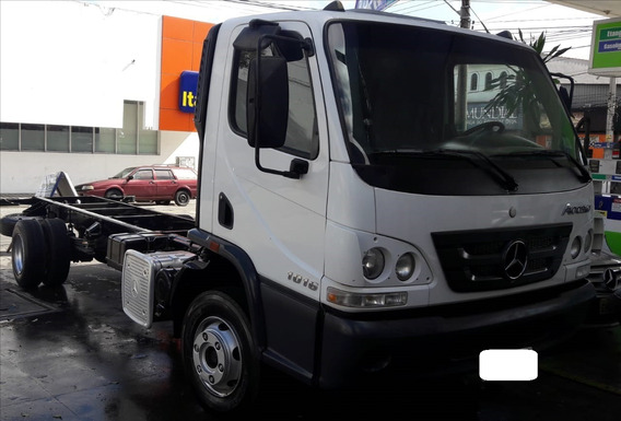 Mb Accelo 1016 Chassis Entreeixo 4,4m - Unico Dono - Bx Km