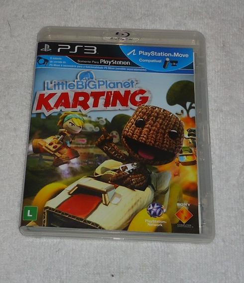 Little Big Planet Karting Ps3 Portugues ** Frete Gratis Leia