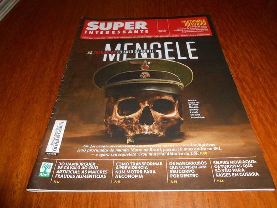 Revista Super Interessante Mengele.