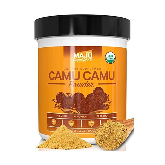 Orgánica Camu Camu En Polvo: Garantizado Purísima Fuente, 10