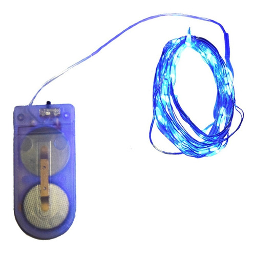 Imagen 1 de 2 de Luces Led Navideñas, Micro Led, Decoración, 2 Metros, Led2