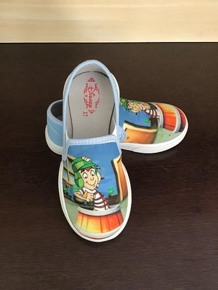 Sapatinho Kids Tenis Infantil Chaves Calçados Desenho