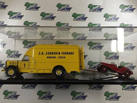 Caminhão Alfa Romeo Truck 500 Transporter Ferrari 1/43 Exoto