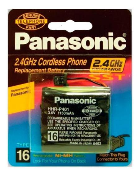 Pila Panasonic Telefonica 401 3.6v 1150mah Hhr-p401