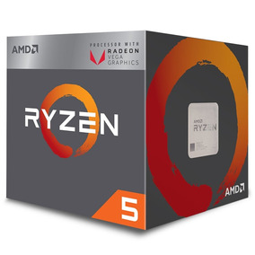 Kit Pc Gamer Amd Ryzen 5 2400g + Placa A320m-m.2 +8g 2400mhz