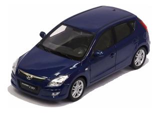 Miniatura Hyundai I30 Azul 1/24