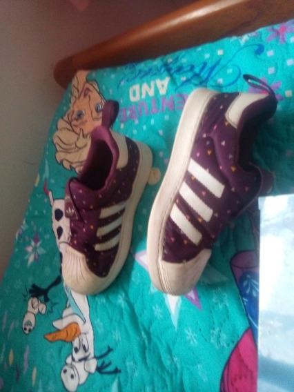 adidas Superstar Talle 26 Violeta