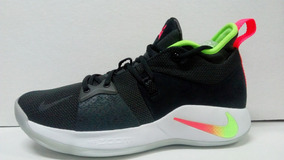 Tenis De Basquetbol Nike Pg 2 Release Anthracite Hot Punch