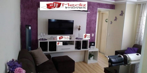 Imagem 1 de 12 de Belo Apartamento À Venda Na Vila Mangalot  - 10929