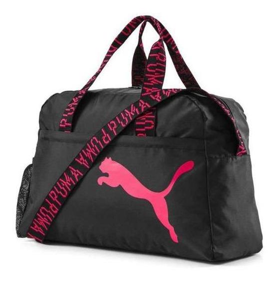 Bolso Puma Mujer At Ess Grip Bag Training Negro