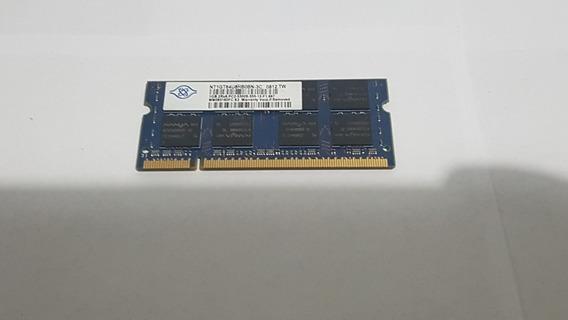 Memoria Ram Nanya 1gb 2rx8 Pc2 5300s 555 - 667
