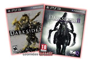 Darksiders + Darksiders 2 Ps3 Español Lgames