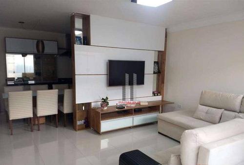 Sobrado Com 3 Dormitórios À Venda, 138 M² Por R$ 550.000 - Vila Bela - São Paulo/sp - So1422