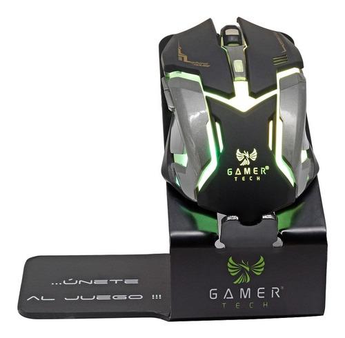 Mouse Gamer  Tech Usb Gt9  6 Botones  Cod 10898