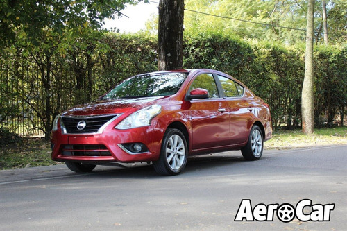 Nissan Versa Extra Full Manual 1.6 2017 Impecable! Aerocar