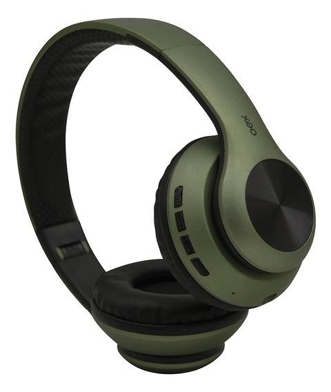 Fone Ouvido Headset Glam Bluetooth Microfone Hs311 Verde Oex