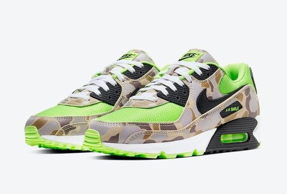 Tênis Nike Air Max 90 Green Camo