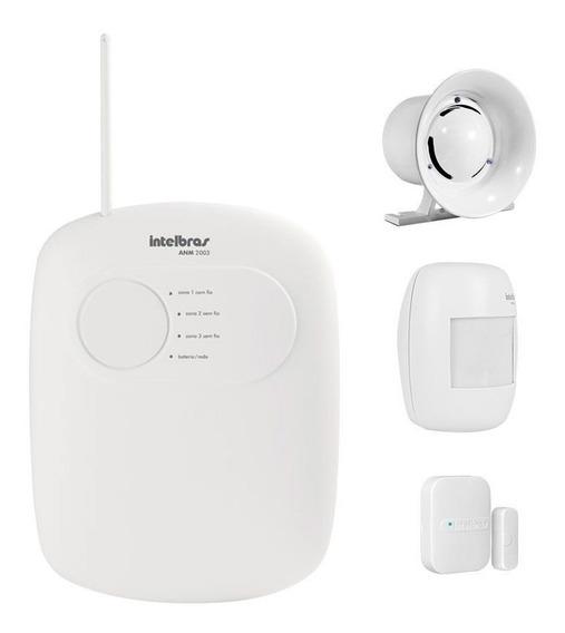 Kit Alarme Intelbras Residencial C/ 3 Sensores + Discadora