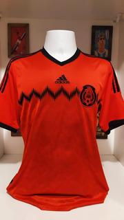 Camisa Futebol Mexico adidas 2014 Vermelha