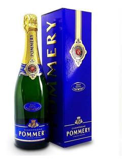 Champagne Pommery Brut Royal Francés 750ml Con Estuche