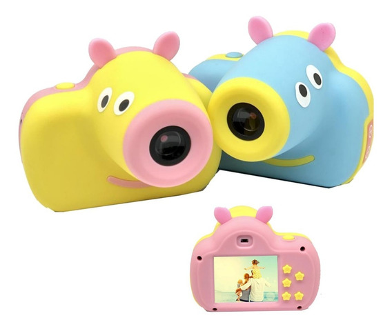 Camara Digital Foto Video Lcd Chicos Regalo Dia Del Niño Pig