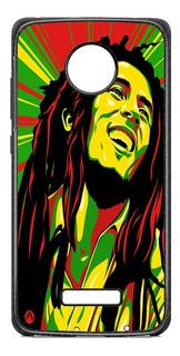 Funda Case Bob Marley Rasta Moto G5 G6 Plus Play Z2 E4 E5