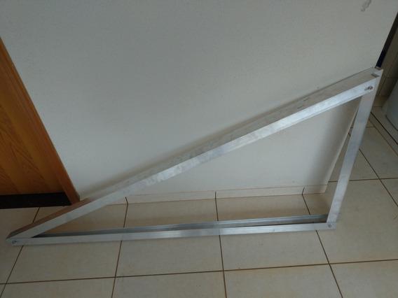 Suporte Laje Chao Painel Solar 2 3 Ou 4 Paineis Triangulo