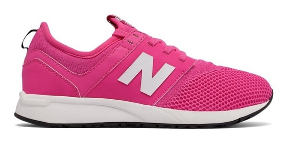 New Balance Zapatilla Lifestyle Mujer-niña 247 Kl247ppg Rosa