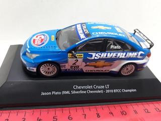 Ixo 1/43 Chevrolet Cruze Campeón Btcc 2010 Jason Plato