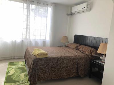 Apartamento Amoblado Salinas Chipipe Dos Cuadras De Mar $60
