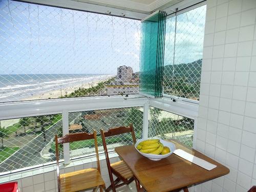 Apartamento Residencial À Venda, Solemar, Praia Grande. - Ap0047