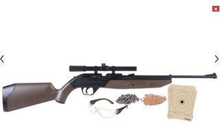 Crosman Rifle Mira Pumpmaster 760 Air + 1500bbs Original !