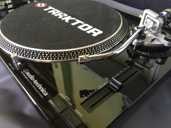 Toca Discos Audio Technica At-lp120 Black + Brinde