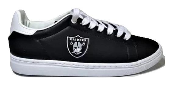 Tênis Oakland Raiders Futebol Americano Nfl Original Revenda Atacado N.f Outlet Bronxsports