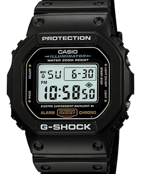 Relógio Casio G-shock Masculino Dw-5600e-1vdf