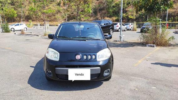 Fiat Uno Vivace 1.0 4 Portas Cor Preto