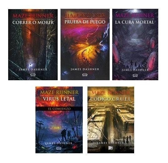 Saga Completa Maze Runner (5 Libros) - Dashner, James
