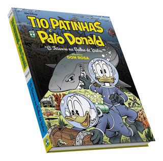 Livro Disney Em Quadrinhos Tio Patinhas E Pato Donald Tesour