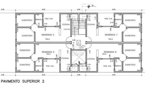 Cobertura Com 2 Dormitórios À Venda, 80 M² Por R$ 380.000,00 - Jardim Silvana - Santo André/sp - Co5486