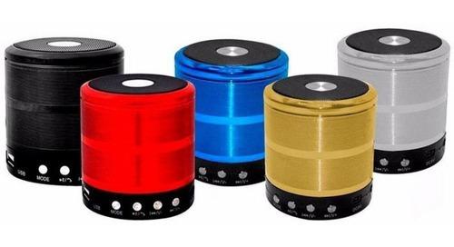Caixa De Som Bluetooth Recarregável Mini Portátil Usb