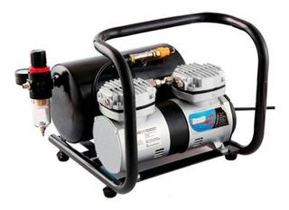 Mini Compresor Aerografo Brush Max I I 1/3 Hp Con Tanque