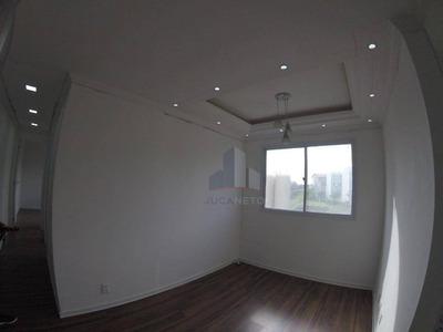 Apartamento Com 2 Dormitórios Para Alugar, 45 M² Por R$ 800/mês - Parque São Vicente - Mauá/sp - Ap0314