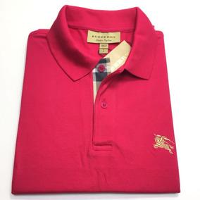 6a57c28b5c0b6 Camisa Polo Esquadra U - Pólos Manga Curta para Masculino Rosa com o ...